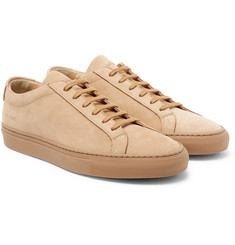 Common Projects - Original Achilles Nubuck Sneakers