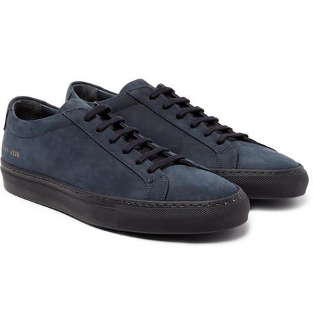Original Achilles Nubuck Sneakers - Navy