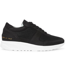 Common Projects Track Runner Nubuck and Mesh Sneakers