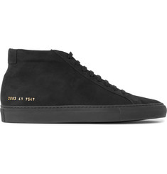 Common Projects Original Achilles Nubuck High-Top Sneakers