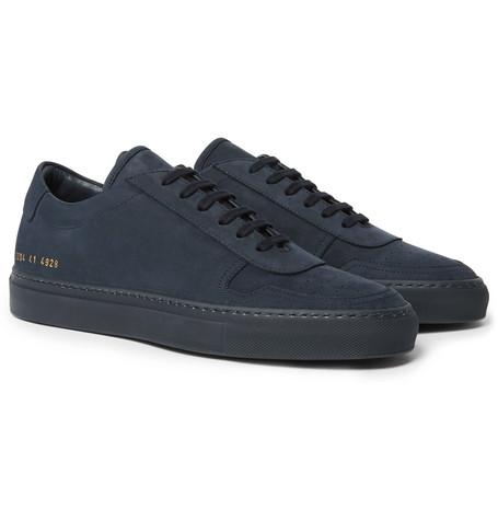 Bball Nubuck Sneakers - Navy