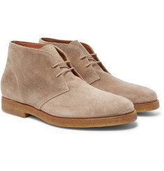 Common Projects - Waxed-Suede Desert Boots