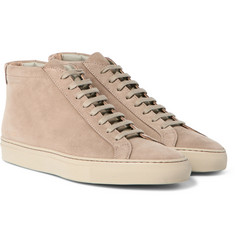 Common Projects - Original Achilles Nubuck High-Top Sneakers