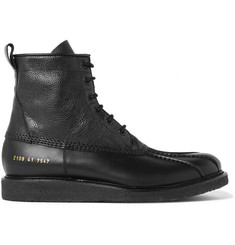 Common Projects Pebble-Grain Leather Boots