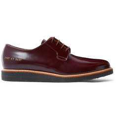 Common Projects - Glossed-Leather Derby Shoes