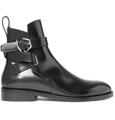 Acne Studios Julian Polished-Leather Jodhpur Boots