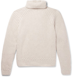 Berluti Ribbed Cashmere Rollneck Sweater