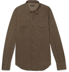 Berluti Slim-Fit Cotton-Corduroy Shirt