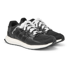 adidas Consortium + mastermind WORLD EQT Support Ultra Leather and Mesh Sneakers