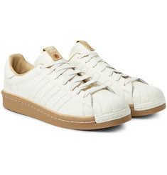 adidas Consortium - + Kasina Superstar Leather Sneakers