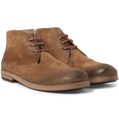 Marsell - Washed-Suede Chukka Boots