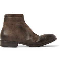 Marsell Washed-Suede Chelsea Boots