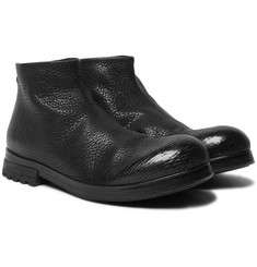 Marsell - Full-Grain Leather Boots
