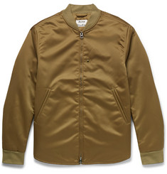 Acne Studios - Mylon Matt Satin Bomber Jacket