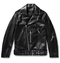 Acne Studios Nate Leather Biker Jacket
