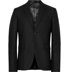 Acne Studios Black Boden Slim-Fit Wool Blazer