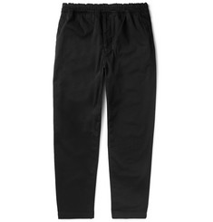 Acne Studios Andy Stretch-Cotton Twill Drawstring Trousers