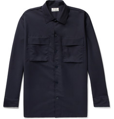 Acne Studios Houston Wool and Mohair-Blend Shirt