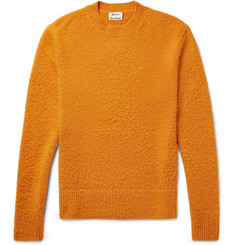 Acne Studios Peele Slim-Fit Nep Wool and Cashmere-Blend Sweater
