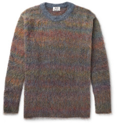 Acne Studios - Nikos Oversized Mélange Knitted Sweater