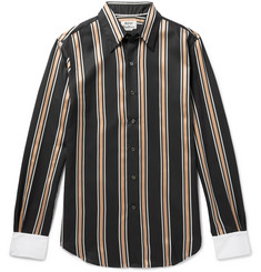 Acne Studios Striped Twill Shirt