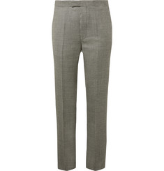 Favourbrook Black Puppytooth Wool Suit Trousers