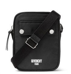 Givenchy Printed Canvas Messenger Bag