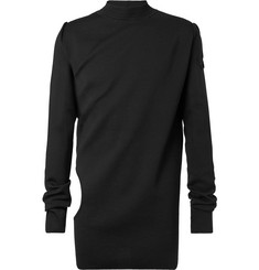 Rick Owens Cutout Virgin Wool Sweater
