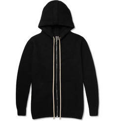 Rick Owens Double-Faced Cashmere Hoodie