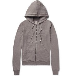Rick Owens DRKSHDW Cotton-Jersey Zip-Up Hoodie