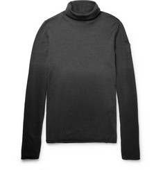 Isabel Benenato Dégradé Virgin Wool Rollneck Sweater