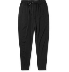Isabel Benenato Virgin Wool-Twill Drawstring Trousers