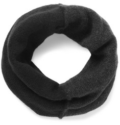 Isabel Benenato - Panelled Merino Wool-Blend Snood