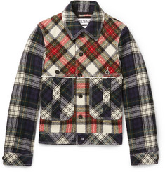 Loewe - Patchwork Checked Wool Blouson Jacket