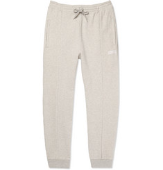 Vetements - Mélange Loopback Stretch-Cotton Jersey Sweatpants