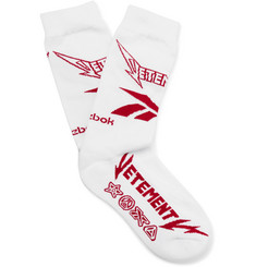Vetements - + Reebok Cotton-Blend Socks