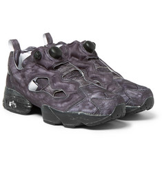 Vetements + Reebok InstaPump Fury Printed Canvas And Neoprene Sneakers