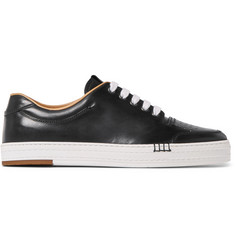 Berluti Playtime Polished-Leather Sneakers