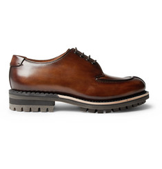 Berluti Venezia Leather Derby Shoes