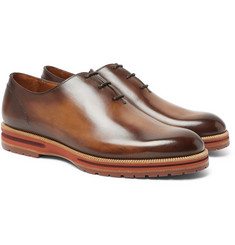 Berluti Alessio Whole-Cut Leather Oxford Shoes