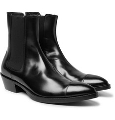 Berluti - Heith Austin Glossed-Leather Chelsea Boots