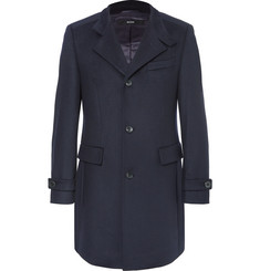 Hugo Boss Sintrax Virgin Wool and Cashmere-Blend Coat