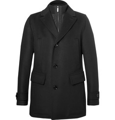 Hugo Boss - Slim-Fit Wool and Cashmere-Blend Overcoat with Detachable Gilet Insert