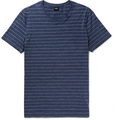 Hugo Boss Tessler Striped Cotton-Jersey T-shirt