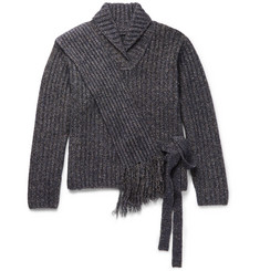 Craig Green - Mélange Ribbed-Knit Sweater