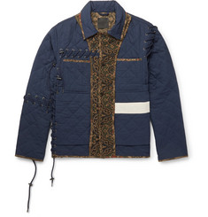 Craig Green - Panelled Quilted Cotton Jacket
