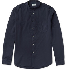 Hartford Premium Grandad-Collar Cotton Shirt