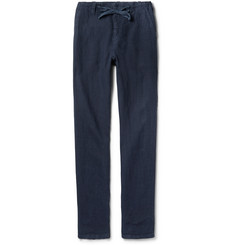 Hartford - Troy Slim-Fit Linen Drawstring Trousers