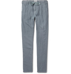 Hartford Troy Slim-Fit Linen Drawstring Trousers