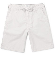 Hartford Cotton-Twill Drawstring Shorts